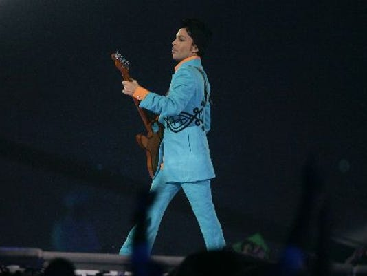 Prince at the Super Bowl 2007