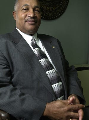 Haywood County Sheriff Melivn Bond pictured in a 2004 file photo.