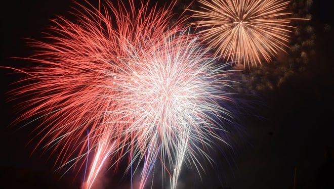Gettysburg's fireworks display has been postponed.