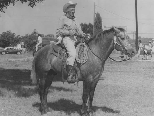 Homestead Red Smith Old Time Cowboy