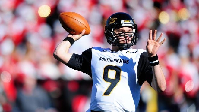 Southern Miss quarterback Nick Mullens was named to the Maxwell Award watch list Tuesday.