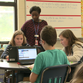 6th grade teachers and students at Sebastian Middle School in St. Augustine are part of a digital pilot program. Every 6th grader has a laptop.