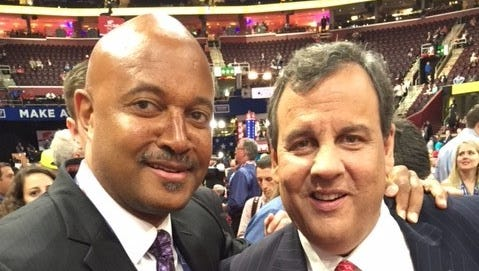 Indiana Attorney General Curtis Hill with New Jersey Governor Chris Christie