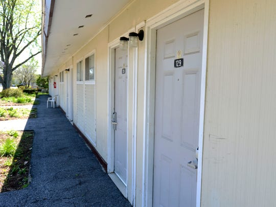 Rooms that once were part of the Econo Lodge on Shelburne