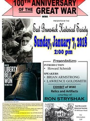 The East Brunswick Historical Society will present