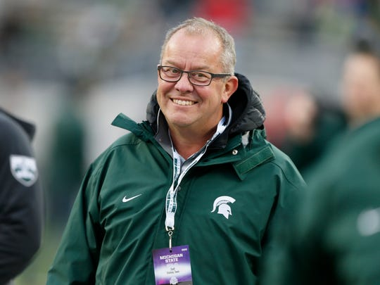 Michigan State Athletic Director Mark Hollis on the