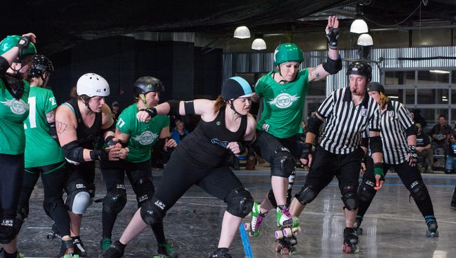 Roc City Roller Derby's 2017 home opener, a double-header, starts at 6 p.m. Saturday, March 18, at Bill Gray's Regional Iceplex.
