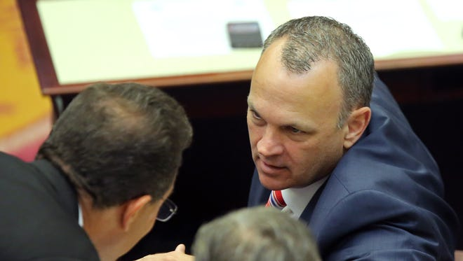 Speaker Richard Corcoran's crusade to end state subsidies to businesses is a dagger aimed at the heart of Gov. Rick Scott's job-creating legacy.