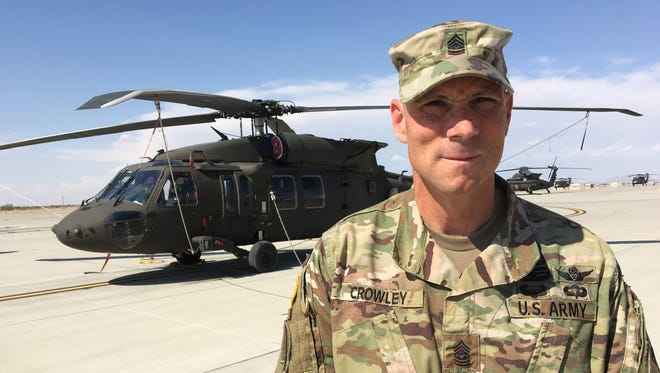 Command Sgt. Maj. Jayson L. Crowley is the new senior enlisted leader for the 3rd Battalion, 501st Aviation Regiment.