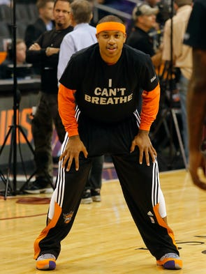 The Phoenix Suns joined the list of athletes protesting