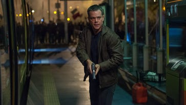 'Jason Bourne' marks the fourth film with Matt Damon as the American superspy.