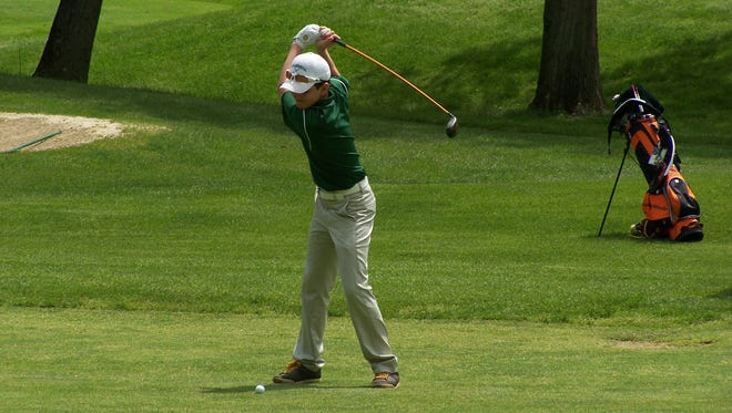 Erik Stauderman is one of the young golfers competing in the Dutchess County Men's Amateur.