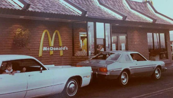 In late 1974, corporate heads were designing an elaborate drive-thru as their first, but Sierra Vista beat them to the punch with a simple addition.