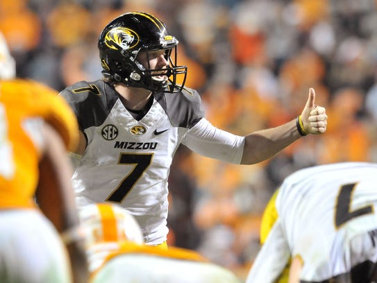 Missouri and quarterback Maty Mauk remain in contention