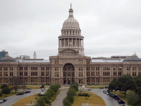 The state Capitol in Austin.