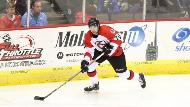 Provided Cyclones forward Jack Downing ranked seventh in the league with 64 points (32 goals, 32 assists).