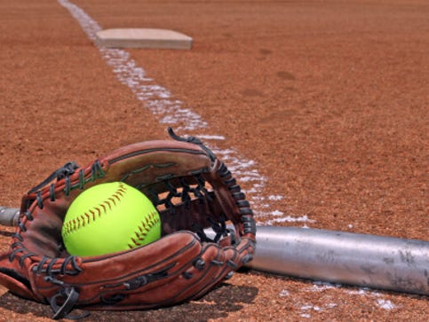 Softball results, April 24