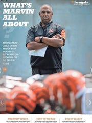 Cover of the Bengals 2015 Preview Section.