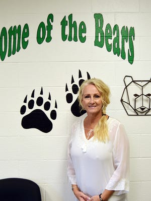 Kim Williams starts her first year as principal of Gold-Burg School, where her husband Gordon recently became the head football coach of the Bears.