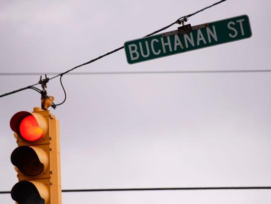 South Buchanan Street in Fremont, where Dilon Messer