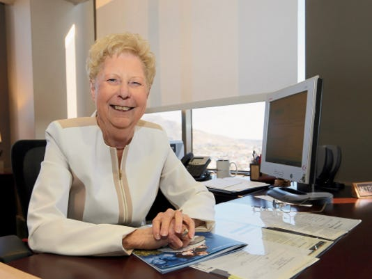RUBEN R. RAMIREZ—EL PASO TIMES Paso del Norte Health Foundation, CEO  Myrna Deckert announced her plans to retire at a press conference Friday morning. Citing that she and her husband wanted to spend more time with family and traveling, being the main factors behind her announcement.