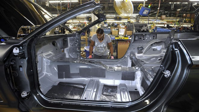 Ford plans to build upcoming vehicles on its battery-electric architecture at its Flat Rock Assembly Plant starting in 2023.