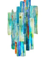 """""""Oracle"""" by Janet Kelman of Ann Arbor."""
