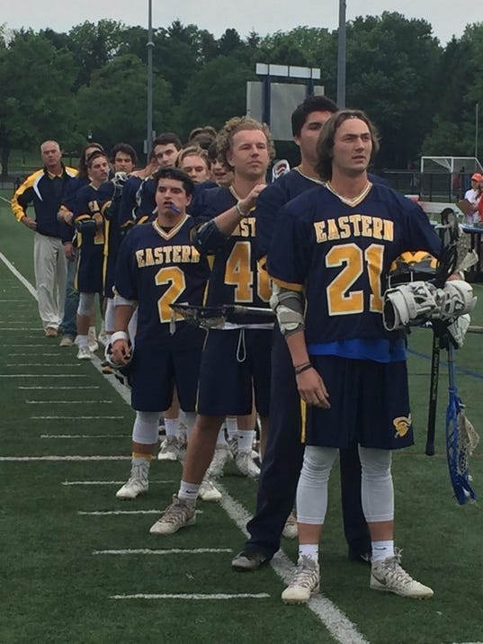 Eastern York boys' lacrosse