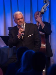 """John O'Hurley performing in his one-man show, """"A Man"""