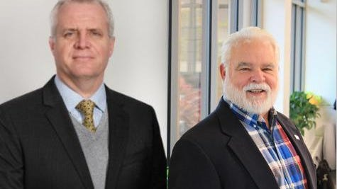 Incumbent District Three Ottawa County Commissioner Doug Zylstra, a Democrat (left), will face Republican challenger Paul Lilly in the upcoming November election.