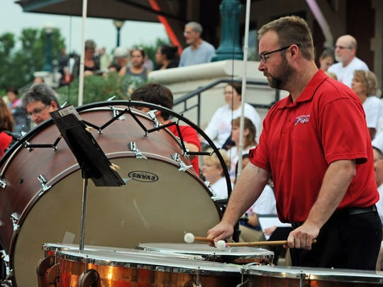 A concert by the Lafayette Citizens Band is part of the festivities July 4 at Riehle Plaza.