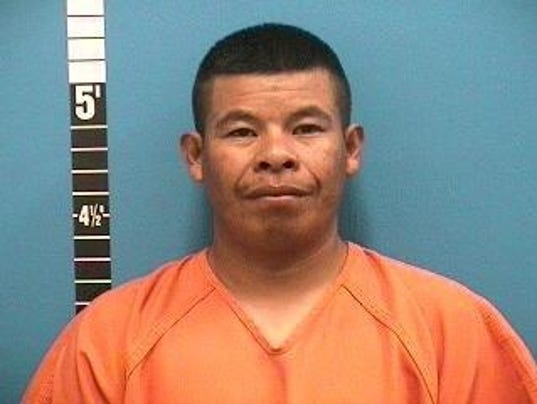 Basilio-Morales-Jimenez was accused of cutting his friend's wrist to the bone, officials said.