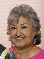 Veronica Homer, the first Miss Indian Arizona in 1961, in a 2006 photo.