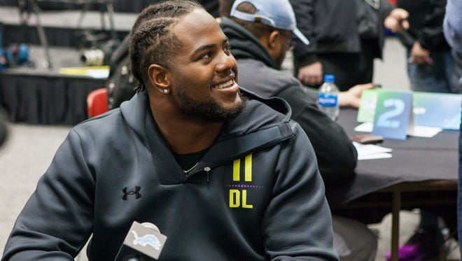 Tennessee defensive lineman Kahlil McKenzie was drafted by the Kansas City Chiefs.