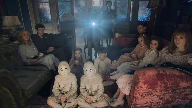 """""""Miss Peregrine's Home for Peculiar Children"""" features a boy named Jake who uncovers a secret refuge for children with unusual abilities. The film opens Thursday at Regal West Manchester Stadium 13 and Frank Theatres Queensgate Stadium 13."""