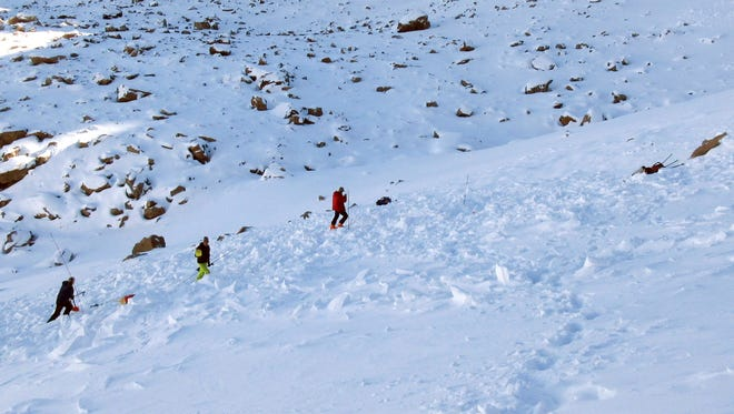 The state advises all hikers and those in the backcountry to stay away from all avalanche terrain on Saturday.