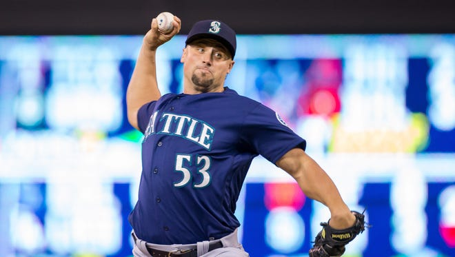 Hard-throwing Dan Altavilla made quite an impression for the Mariners last season after being promoted from Double-A.