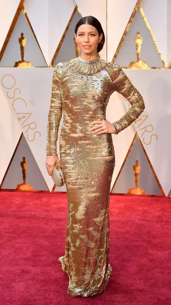 Jessica Biel dress on Oscar