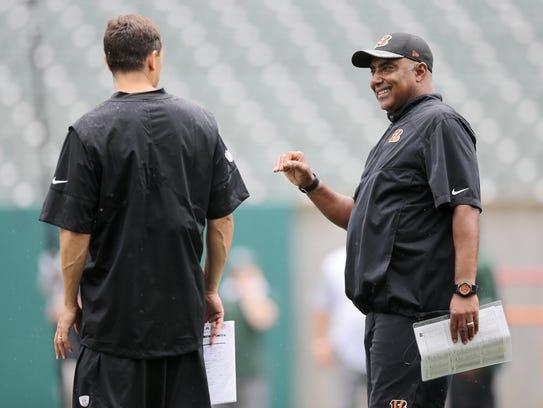 Cincinnati Bengals head coach Marvin Lewis liked Bill