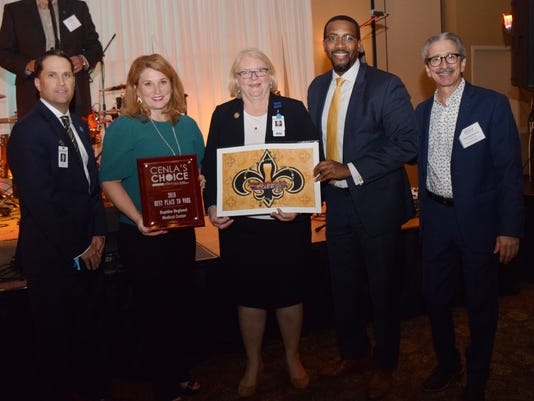 The Town Talk's 2018 Cenla's Choice Awards were held Thursday, Sept. 13, 2018 at the Best Western in Alexandria. Readers picked the winners in nearly 200 categories including the top three categories of Best Local Business won by Little Cakes with Big Attitude; Best New Business won by Walk-Ons Bistreaux and Bar and Best Place to Work won by Rapides Regional Medical Center won Best Place to Work. Congratulations to all our winners and nominees.