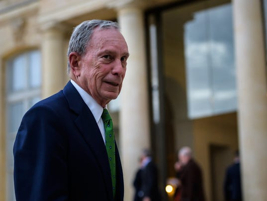 Mike Bloomberg gives 15M for climate pact