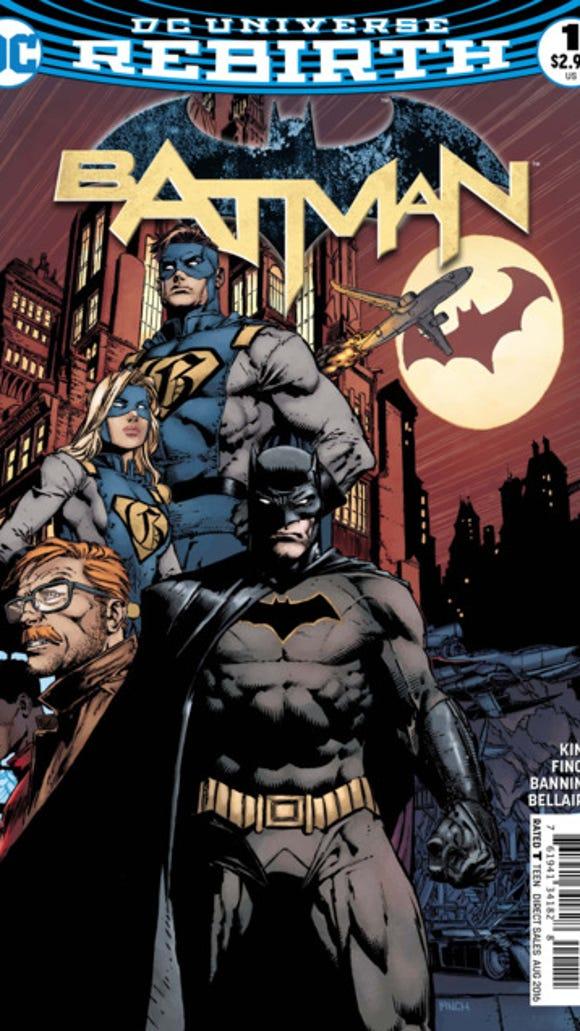 """Cover of Batman """"I Am Gotham"""" Part 1."""