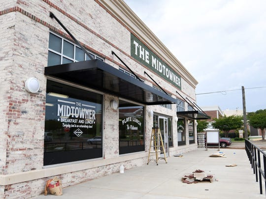 Restaurateur Robert St. John's newest creations, The Midtowner,Êand Midtown Donut, 3000 Hardy St.,ÊSuite 10, are opening in July at The District.