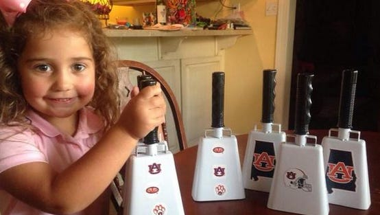 There's a rumor Auburn fans will be arriving in Starkville with their own bells on.