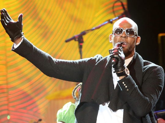R. Kelly performs onstage during the Pre-Grammy Gala and Salute to Industry Icons in 2014.