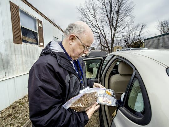 Meals on Wheels for Fido and Fluffy, too