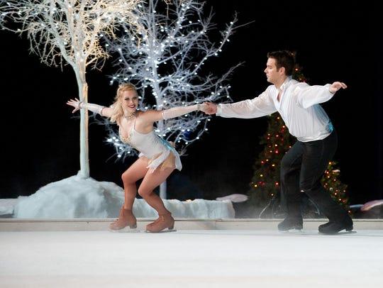 Winter Wonderland on Ice! Christmas comes to life on