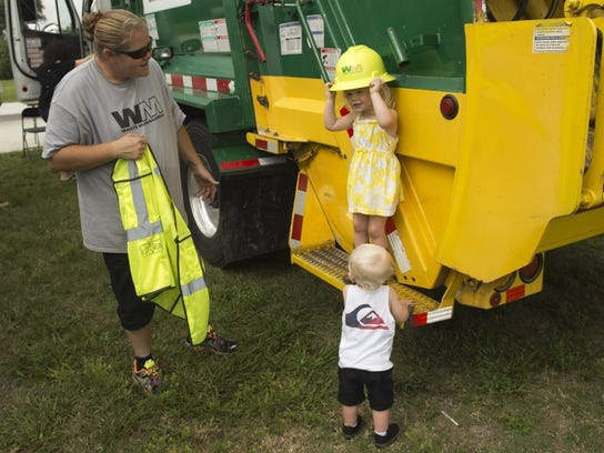 Touch-a-Truck is 10 a.m. to 2 p.m. at the Martin County Fairgrounds, at 2616 SE Dixie Highway, and is a must attend for families with little ones who are fascinated with trucks, cars and emergency or law enforcement vehicles.