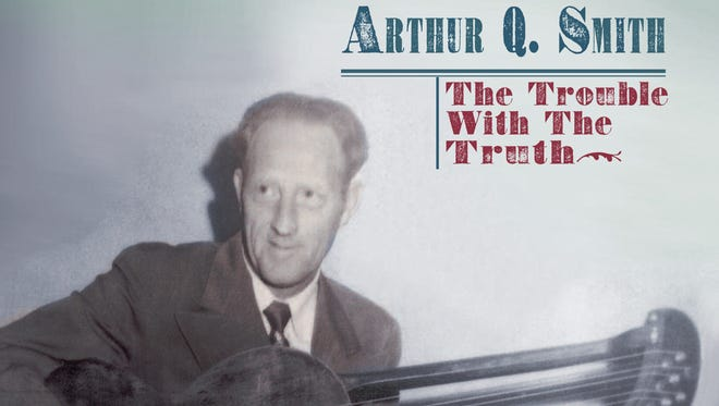 """Cover of the new Bear Family Records two-CD set and book """"Arthur Q. Smith: The Trouble With the Truth"""""""