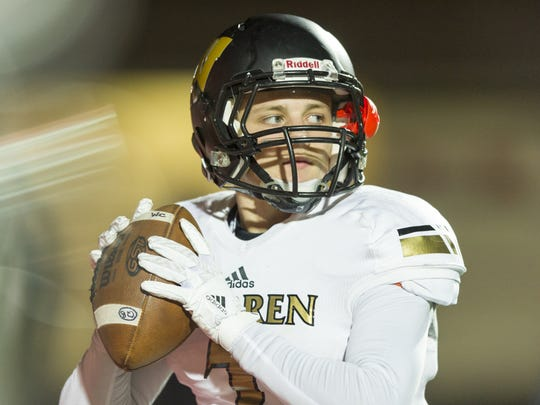 Warren Central QB Zach Summeier led a high-powered